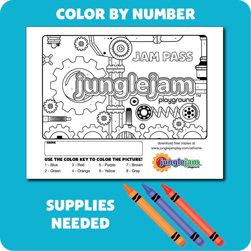 Color by Number - Jam Pass